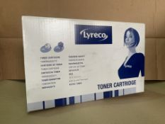 11 X LYRECCO TONER CARTRIDGES