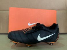 (NO VAT) 7 X BRAND NEW CHILDRENS NIKE TOTAL 90 SHOOT 2 BOOTS SIZE 5