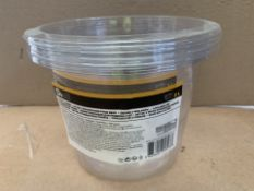 96 X PACKS OF 3 2L BUCKET LINERS (202/27)