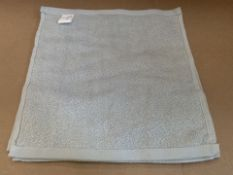 20 X BRAND NEW PACKS OF 10 GREY COTTON FACECLOTHS (70/27)