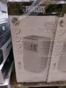 PALLET TO CONTAIN 4 x PRINCESS WHITE AIR CONDITIONER 9000 BTU. RRP £399.99 EACH. 1000 Watt mobile