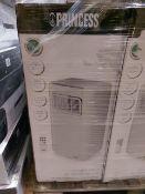 1 x PRINCESS WHITE AIR CONDITIONER 9000 BTU. RRP £399.99 EACH. 1000 Watt mobile air conditioner