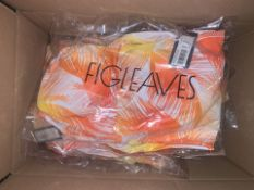 11 X BRAND NEW INDIVIDUALLY PACKAGED FIGLEAVES CORAL PALM MANILLA PALM NON WIRED HALTER PLUNGE