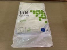 100 X BRAND NEW PACKS OF 5 LILLE HEALTHCARE GANMILL PANTY SIZE MEDIUM (32/3)
