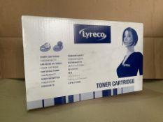 11 X LYRECCO TONER CARTRIDGES (5/3)