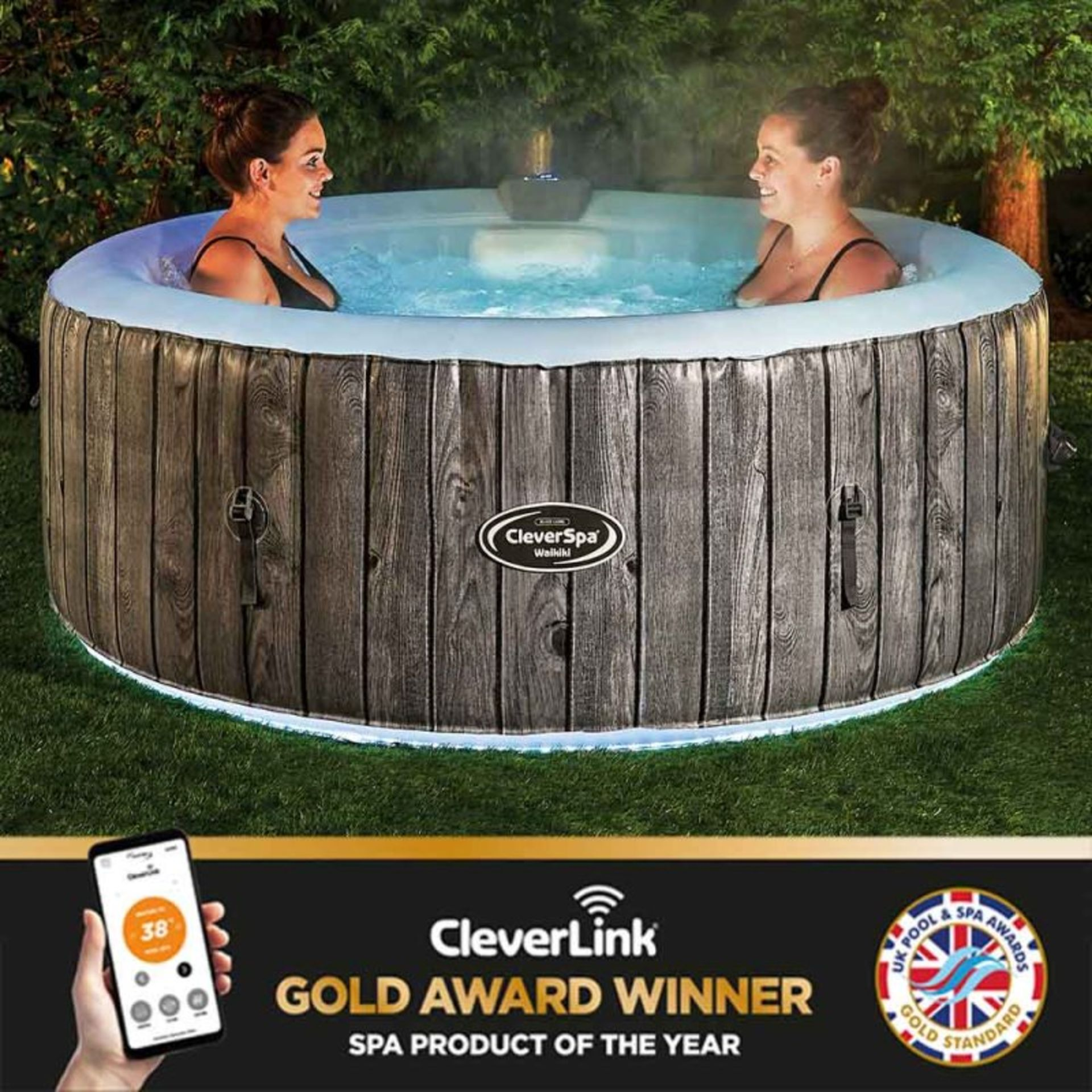 (REF2100745) 1 Pallet of Customer Returns - Retail value at new £1872.52. To include: CLEVERSPA 4