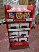 PALLET TO CONTAIN 2 x NEW MATTEL SHOP DISPLAY UNITS EACH CONTAINING 48 PIECES OF VIEW MASTER VR