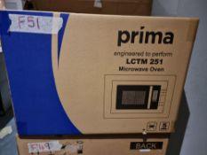 PRIMA LCTM251 BI 25L F/L GRI M/WAVE STST
