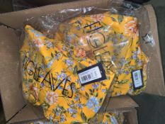 13 X BRAND NEW INDIVIDUALLY PACKAGED FIGLEAVES YELLOW FLORAL BRIONY UNDERWIRED BANDEAU STRAPLESS