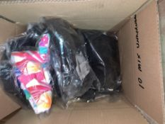 10 X BRAND NEW INDIVIDUALLY ASSORTED UNDERWEAR IN VARIOUS STYLES AND SIZES INCLUDING FIGLEAVES,