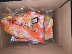 10 X BRAND NEW INDIVIDUALLY PACKAGED FIGLEAVES CORAL PALM MANILA PALM NON WIRED HALTER PLUNGE