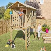 NEW Bloom Wooden Playhouse. This is an ideal addition to your garden for your children to play in