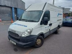 NX14 JGF IVECO DAILY 35S11 MWB PANEL VAN  FIRST REGISTERED 15.04.2014  6 SPEED GEAR BOX, SIDE