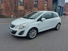 YR13 TPZ VAUXHALL CORSA SE 3 DOOR Date registered:15 May 2013  COMPLETE WITH ALLOY WHEELS, CD