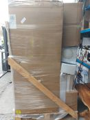 (W1) PALLET TO CONTAIN A LARGE QUANTITY OF BATHROOM GOODS TO INCLUDE: TAPS, BATHROOM CABINETS/VANITY