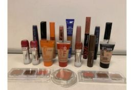 PALLET TO CONTAIN 1,000 X BRAND NEW ASSORTED MAX FACTOR AND RIMMEL SEALED TESTERS INCLUDING 5.