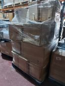 (W8) PALLET TO CONTAIN APPROX. 15 x ASSORTED TOILET PANS TO INCLUDE BACK TO WALL ETC. ORIGINAL