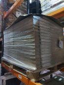 (W14) PALLET TO CONTAIN 32 SETS OF 2 FORM DARWIN WHITE SHELVES. SIZE 50CM(L) x 37cm(D). RRP £35