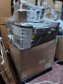 (W7) PALLET TO CONTAIN A LARGE QTY OF ASSORTED PRINCESS APPLIANCES TO INCLUDE: SMART TOWER FANS,