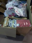 (W3) PALLET TO CONTAIN A LARGE QTY OF GREETING CARDS, GIFT BAGS, CREST MOUTH WASH ETC.