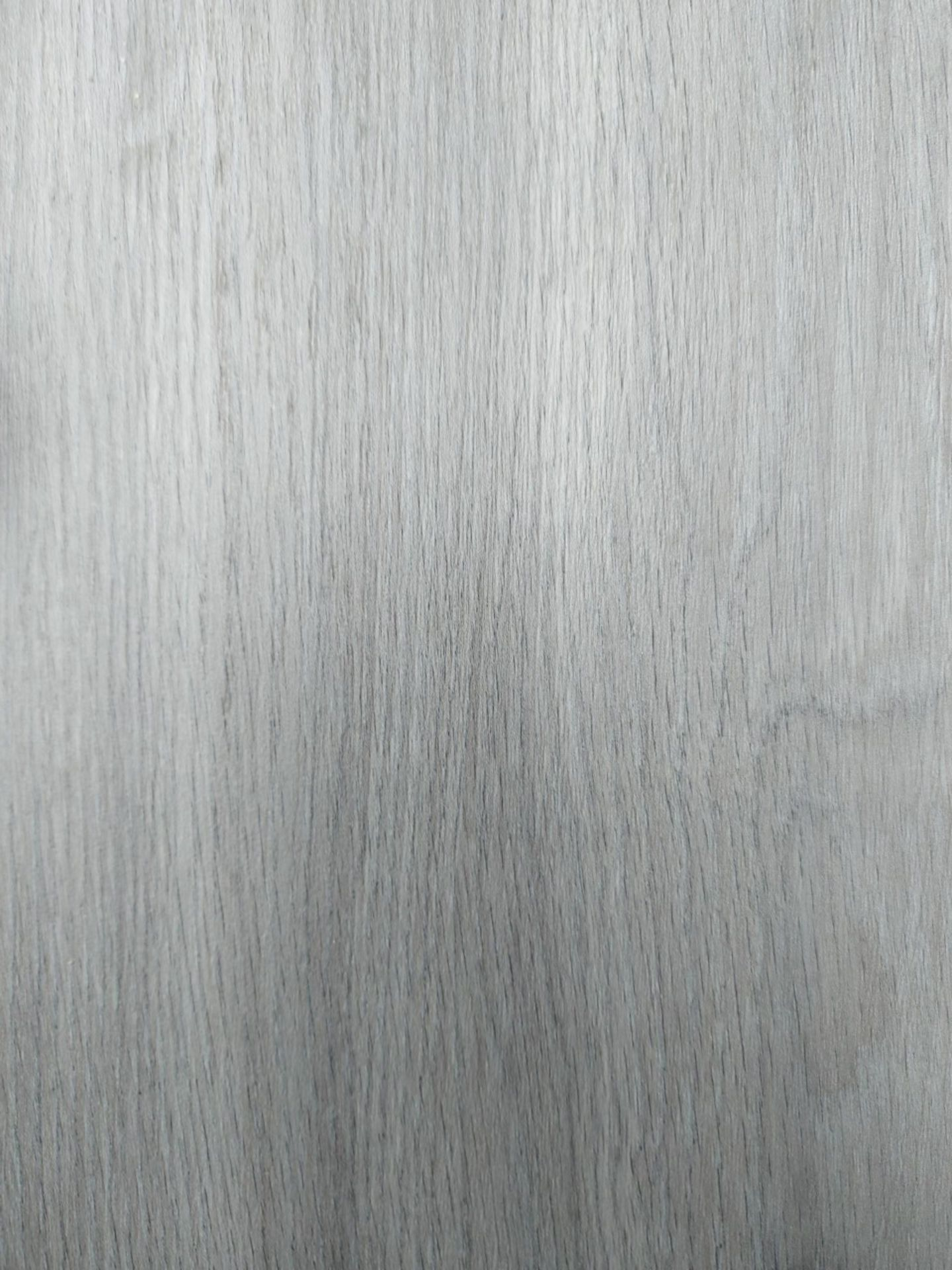 PALLET TO CONTAIN 11 NEW SEALED PACKS OF Grey Oak effect Luxury vinyl click flooring. EACH PACK