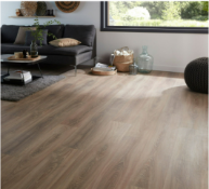 PALLET TO CONTAIN 13 NEW SEALED PACKS OF GoodHome Albury Natural Oak effect Laminate Flooring,