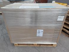 PALLET TO CONTAIN 48 NEW SEALED PACKS OF GOODHOME LEDBURY LIGHT BROWN OAK EFFECT 10MM LAMINATE
