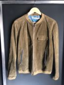 RRP £450 WOMENS M GRIFONI LEATHER JACKET SMALL