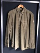 NEW WITH LABELS BELLSTAFF PITCHING CORD SHIRT RRP £175