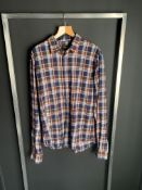 NEW WITH LABELS LARGE DSQUARED LONG SLEEVE BUTTON SHIRT rrp £445