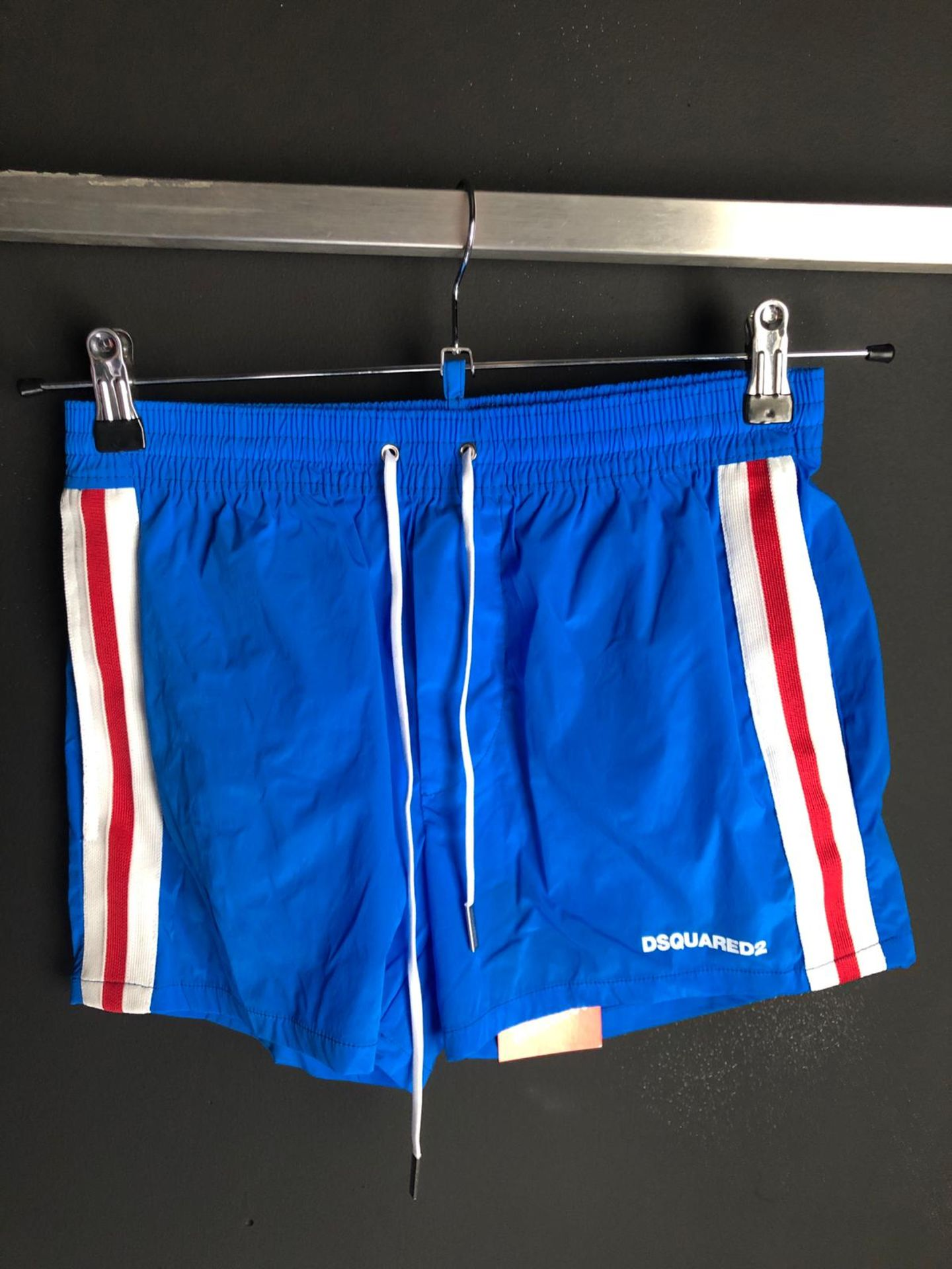 NEW DSQUARED2 SHORTS BLUE SMALL 29/30 WAIST