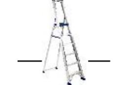 BRAND NEW REGINA 6 TREAD EN131 STEPLADDER PLATFORM HEIGHT 1390MM RRP £310 SV-REG-6