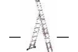 BRAND NEW LUXE 3 EN131 REFORM LADDER (10 + 11 + 11) 3400MM RRP £550 SVLX3 - 10 + 11 + 11