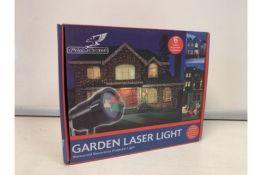 6 X BRAND NEW BOXED FALCON GARDEN LASER LIGHTS - WATERPROOF DECORATIVE PROJECTOR LIGHT. RRP £49.99