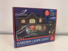 PALLET TO CONTAIN 60 X BRAND NEW BOXED FALCON GARDEN LASER LIGHTS - WATERPROOF DECORATIVE
