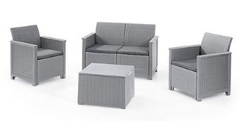 (REF2114030) 1 Pallet of Customer Returns - Retail value at new £332.62 To include:PATIO BENCH BOX
