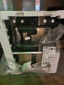 ELUX KDFEC40UX BU 60CM DBL ELE OVEN STST – SMASHED GLASS