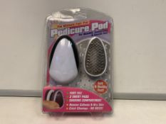 72 X NEW PACKAGED THE ULTIMATE FOOR FILE - PEDICURE PODS