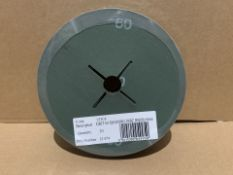 1000 X BRAND NEW GRIT 60 SANDING DISCS IN 5 BOXES