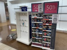 3 X PORTABLE DISPLAY STANDS