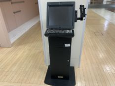 NCR MONITOR SCAN RECEIPT STAND