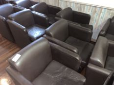 APPROX 20 X VARIOUS SRESTAURANT CUSHIONED SEATS