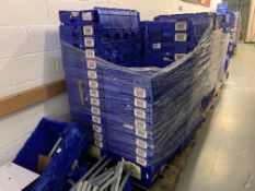5 X PALLETS OF APPROX 200 BLUE STORAGE TUBS