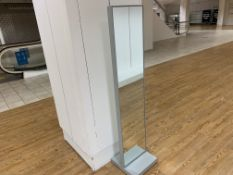 FREESTANDING DOUBLE SIDED MIRROR