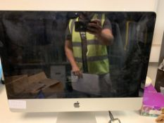 APPLE IMAC ALL IN ONE PC INTEL CORE i5, 2.5 GHZ, HIGH SIERRA OPERATING SYSTEM, 500GB HARD DRIVE WITH