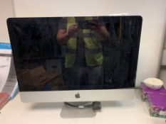 APPLE IMAC ALL IN ONE PC, INTEL CORE i3, 3.06 GHZ, NO OPERATING SYSTEM, 500GB HARD DRIVE WITH