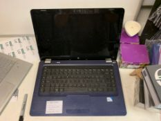 HP G62 LAPTOP, WINDOWS 10, 320GB HARD DRIVE WITH CHARGER
