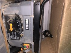 TITAN 1500W TABLE SAW (UNCHECKED, UNTESTED)