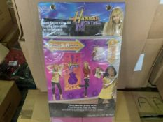 72 X BRAND NEW HANNAH MONTANA GIANT DECORATING KITS IN 4 BOXES