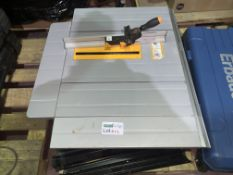TITAN TTB763TAS 254MM ELECTRIC TABLE SAW 220-240V (UNCHECKED, UNTESTED)
